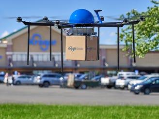 Kroger is testing home delivery via drones in Greater Cincinnati.