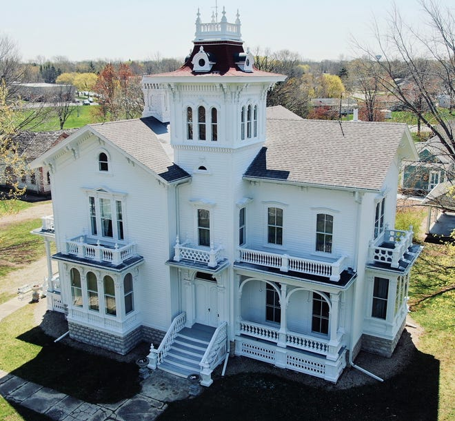 The city's historic Galloway House as it looks today after renovations funded by a $1.6 million capital campaign. A reopening celebration at the Galloway House & Village grounds is  set for May 29 and 31.