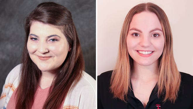 Terra State Community College students Katrina Drake and Jamie Walton have been recognized on the All-Ohio Community College Academic Team for the 2020-2021 academic year.