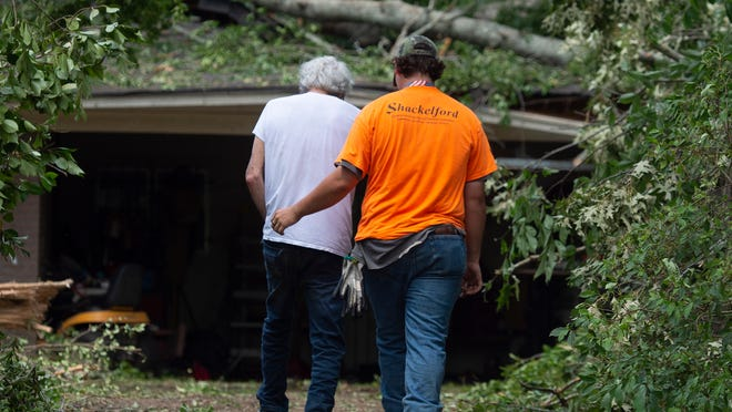 100 million on the path of inclement weather and possible tornadoes