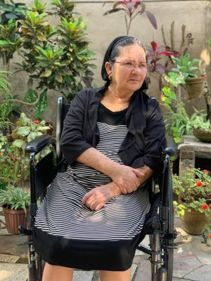 Ariel Rodriguez-Pena applied for humanitarian parole for his mother, Miriam Pena Osorio, pictured here, to fly in from Cuba to have a benign brain tumor removed.