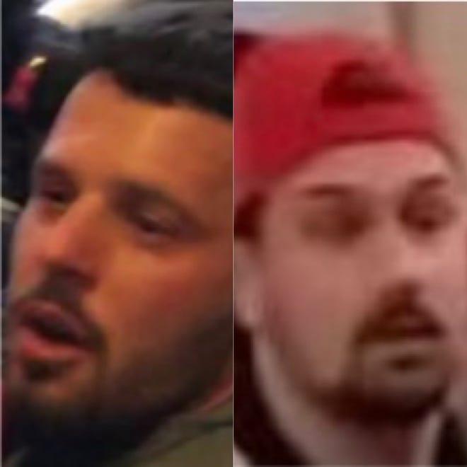 Brandon Nelson, left, and Abram Markofski, right.