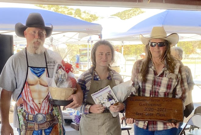 The Gila Belly Buster team, Joe and Lorre Bice from Las Lunas were winners in two categories,.Best Beef Meal and Best Bread.