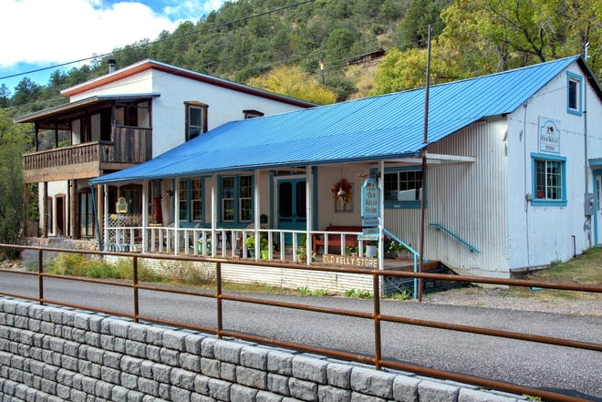 Step back in time with a visit to the Old Kelly Store in Mogollon, New Mexico.