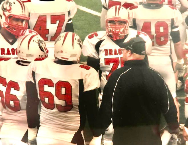 Jacob Topp has been on sidelines as an assistant coach ever since he graduated from Grand Valley State in 2008, spending his last five seasons at Detroit Country Day.