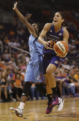 Spanish guard Marta Xargay played for the Phoenix Mercury in 2015 and 2016. She is now back in training camp with the Mercury, trying to earn a roster spot.