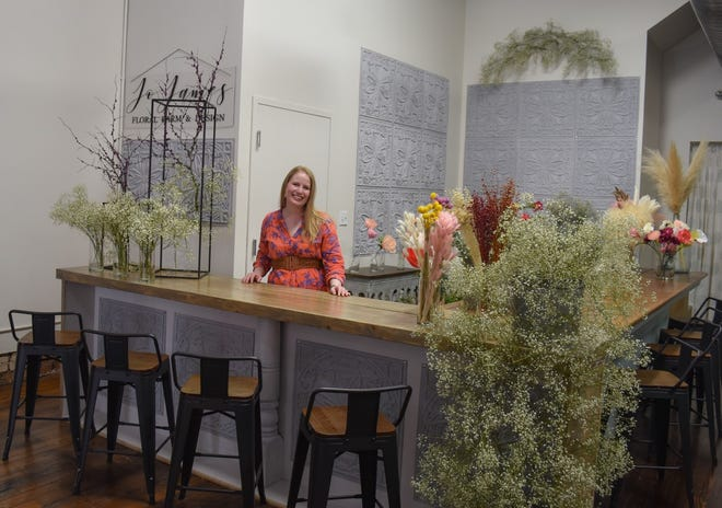 Sandy Widmer has partnered with Elmore native Jo James to help make Elmore a one-stop shop for brides-to-be.