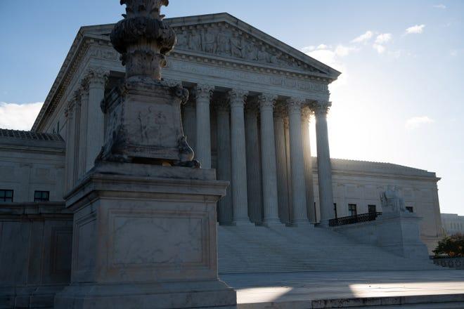 The U.S. Supreme Court in Washington, D.C., on Nov. 10, 2020. (Graeme Sloan/Sipa USA/TNS)