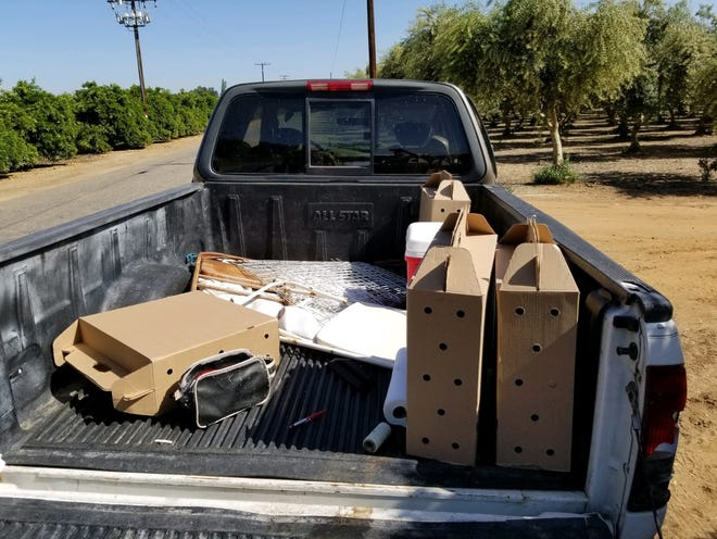 Tulare County Sheriff's Department investigated an illegal cockfighting ring on Sunday, May 2, 2021.