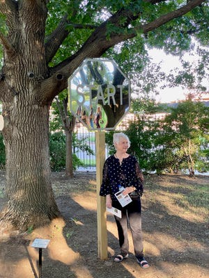 Everyone is welcome to attend the opening of the 17th Annual Sculpture Garden Exhibit from 6:30 to 8:30 p.m. Saturday at the Kemp Center with an Artist Reception. Nine of the 10 sculptors whose work will be featured will be in attendance. Admission is free.