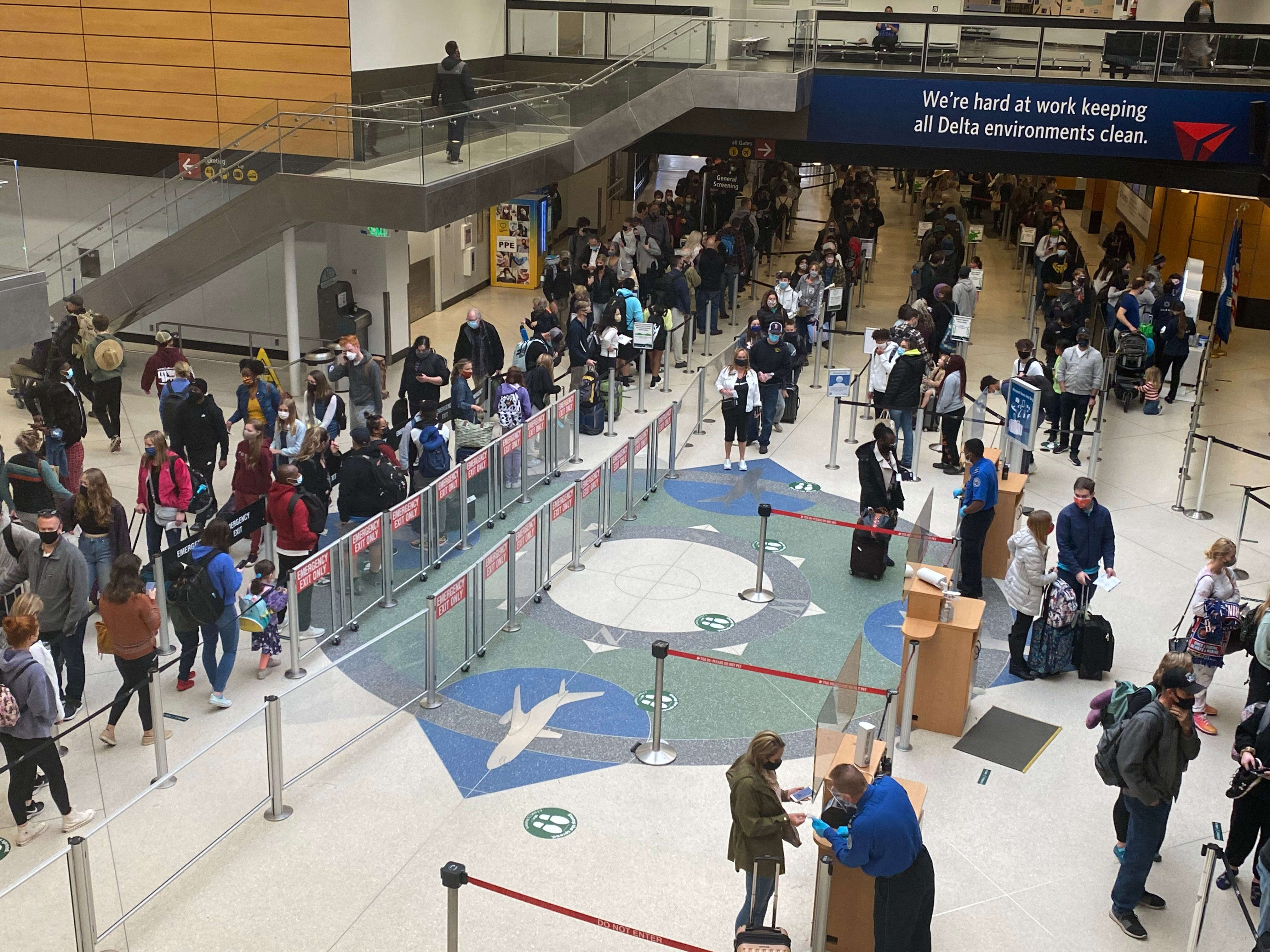 TSA screens more than 2 million on Friday for the first time since the pandemic hit