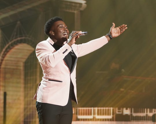 Deshawn Goncalves, 20, delivered a jazzy performance of