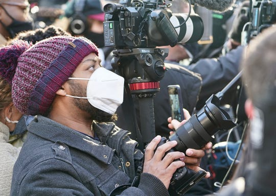 USA TODAY video journalist Jarrad Henderson covers events surrounding the trial of former Minneapolis police officer Derek Chauvin.