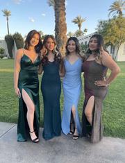 Alyssa Smith from Avondale, Ariz., had her senior prom in April.
