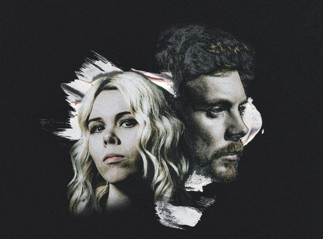 """Austin's Pat Byrne, right, and former Austinite Jaimee Harris co-wrote the song """"Losing Heart,"""" which will appear on Byrne's upcoming album """"Into the Light."""""""
