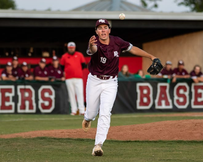 Round Rock pitcher James McGlumphy, a senior, threw a complete game with four strikeouts while scattering three hits in the Dragons' 3-1 victory over Vandegrift last week. The Dragons won District 15-6A and will face Hays in the first round of the playoffs this week.