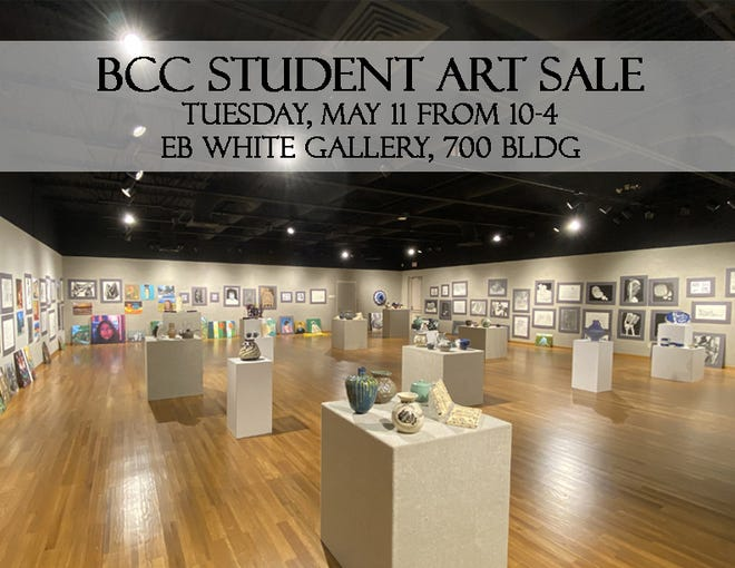 Butler Community College will hold a student art sale in the E.B. White Gallery on   May 11.