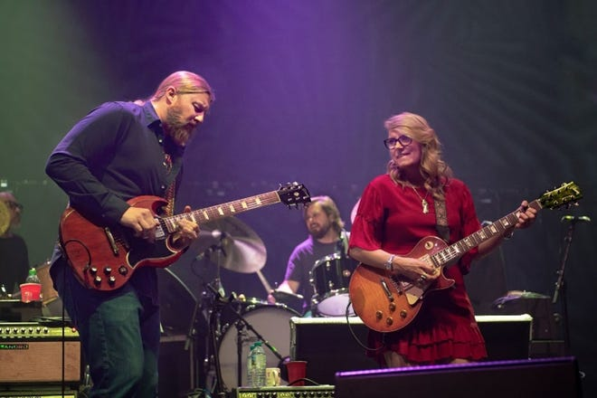 Derek Trucks, left, and Susan Tedeschi will lead a scaled-down version of their Tedeschi Trucks band for one July night of a re-imagined Beach Road Weekend in Vineyard Haven.