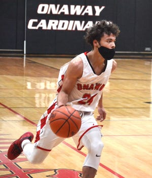 Onaway senior guard Kevin Pearson earned a spot on the Basketball Coaches Association of Michigan's (BCAM) Best All-State Division 4 boys basketball team.