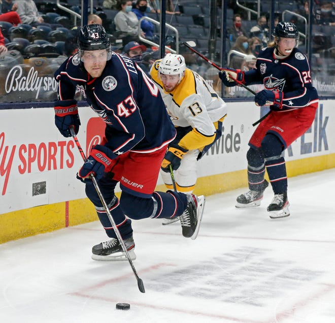 The Blue Jackets re-signed Mikko Lehtonen (43) to a one-yearcontract for $900,000.