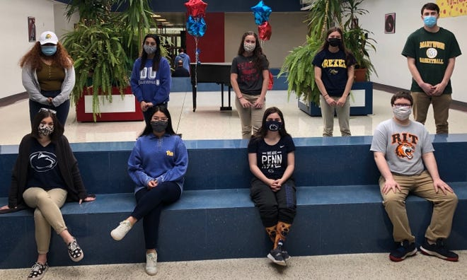 Students participated in Decision Day recently.