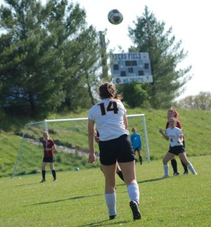 Makayla Morrison and the Central Lee High School girls soccer team dropped a 3-0 match at Tipton Monday to fall to 4-4.