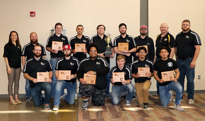 FHSU won the all-around championship at the 83rd annual International Technology and engineering Educations Association (ITEEA) conference in March.