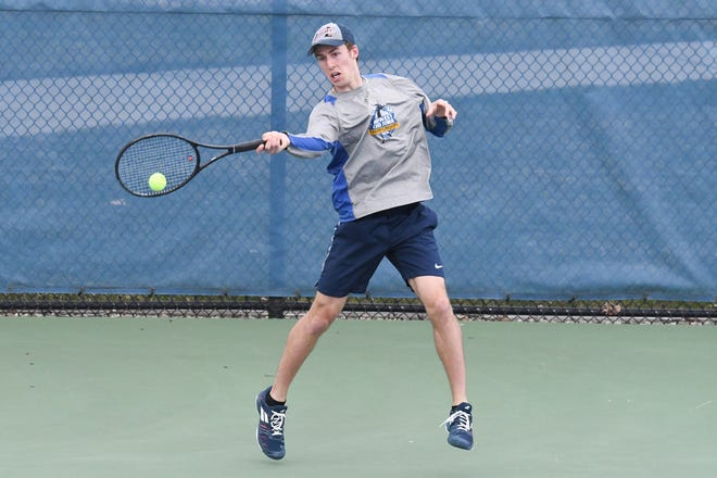 Hope's Jacob Burkett is MIAA MVP after going unbeaten in league play at No. 1 singles.