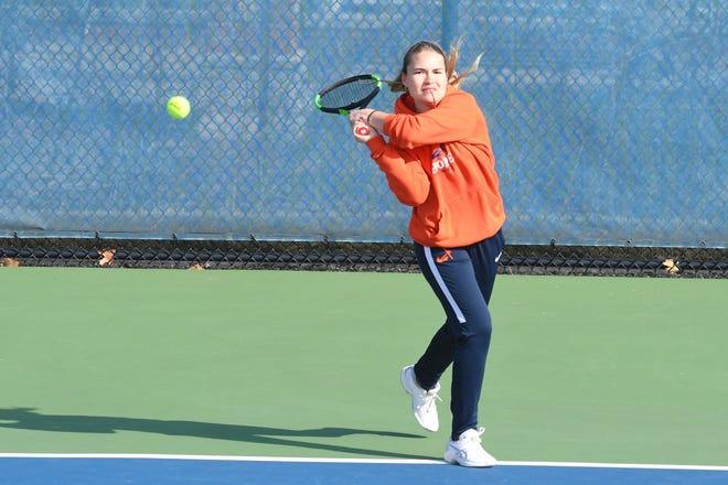 Hope's Sydney Jackson is the MIAA women's tennis MVP.