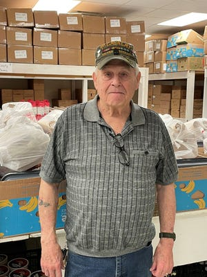 Billy draws on his experiences and relationships to help Walmart feed the hungry at Helping Hands.