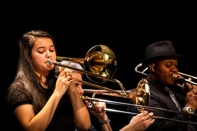 Contemporary Jazz students perform for the community.