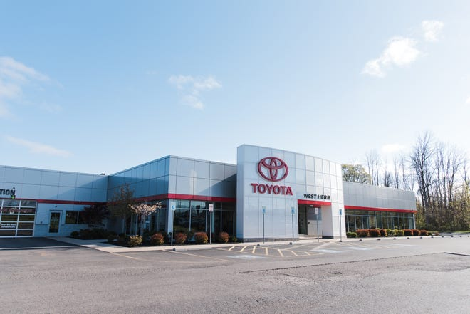 Vanderstyne Toyota on West Ridge Road is acquired by the West Herr Automotive Group.