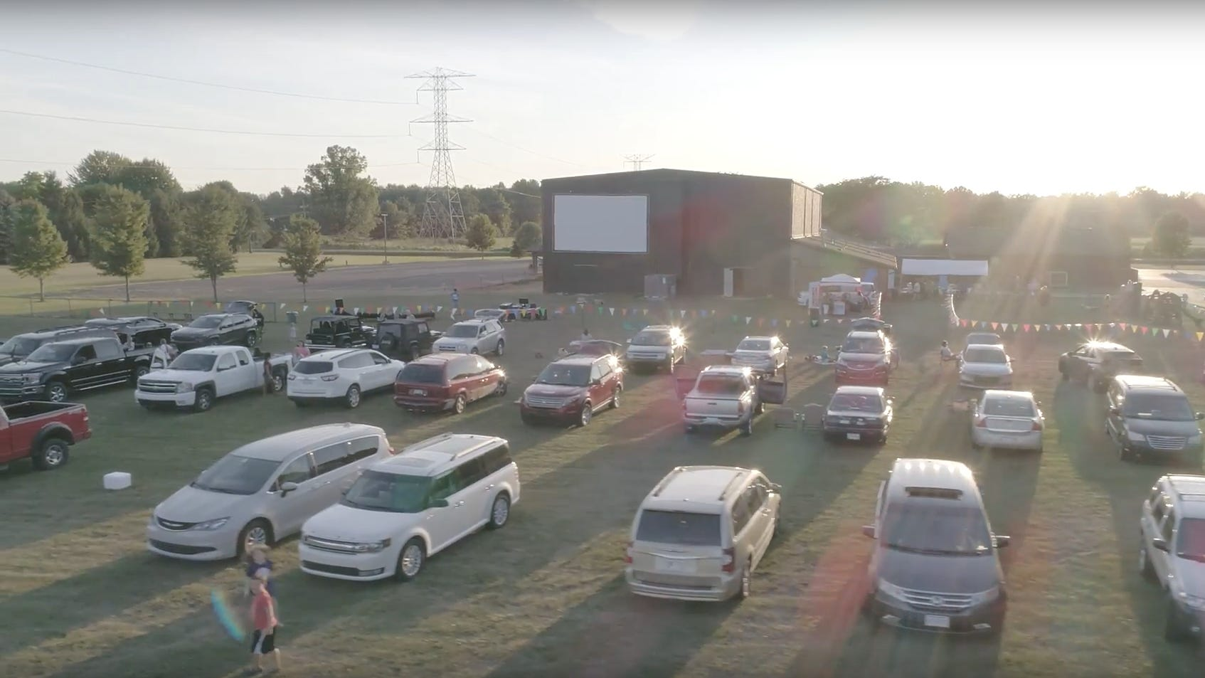 New Life drive-in movie theater opens for second season