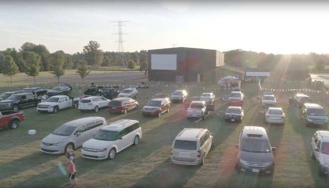 New Life Church in Petersburg created a drive-in movie theater on its property. The church's first movie of 2021 will be shown tonight.