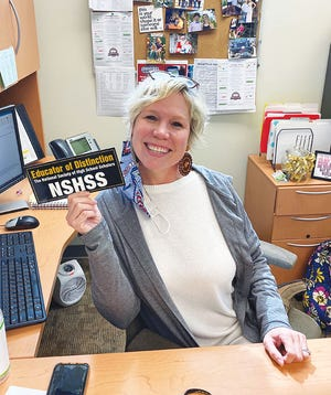 Heidi Foster, an educator at Oak Ridge High School in Oak Ridge was recently selected as a Claes Nobel Educator of Distinction by The National Society of High School Scholars (NSHSS).