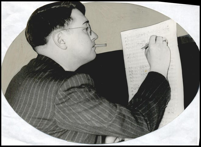 Oklahoma composer Jack Kilpatrick is shown in a 1941 photo.