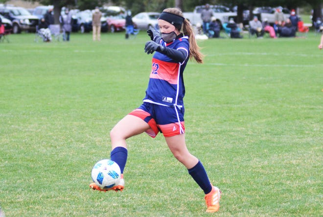 Maddie Smith and the Boyne City backline have done a strong job at keeping whoever is in goal clean, as they posted a seventh straight shutout Monday.