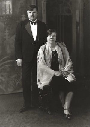 Mark and Mandy Patinkin's paternal grandparents, Max and Celia Patinkin, who emigrated to America in the early 1900s from a Polish village whose Jewish population was annihilated during the Holocaust.
