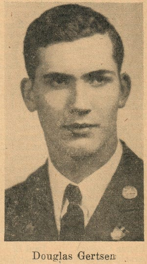 Douglas Gertsen was the first soldier from Story City to lose his life during World War II.