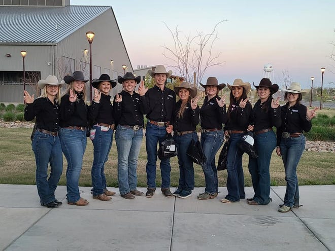 Tarleton State University's stock horse team competed last weekend at the National Ranch and Stock Horse Alliance Collegiate Championship show in Amarillo. The team ended the weekend bringing home third place in Division 2 and one of its limited non-pro riders, Clay Kinnison, ended up fifth in the all around.