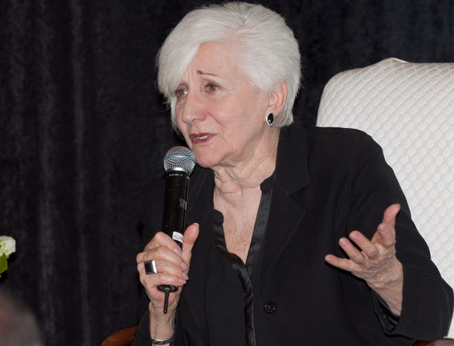 The Sarasota Film Festival presented a Lunch with Olympia Dukakis in 2016. The Oscar-winning actress, who died May 1 at age 89, made several visits to Sarasota for talks, classes and film screenings.