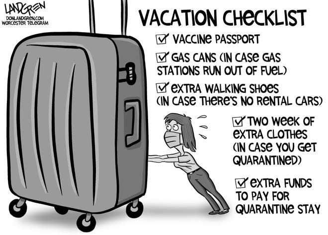 Preparing for a vacation is a lot more complicated in COVID-19 times.