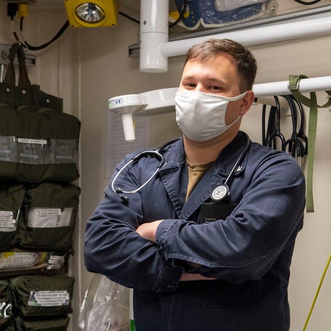 Petty Officer 3rd Class Steven Dye