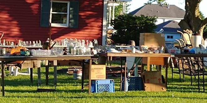 An example of some of the items that will be offered in the upcoming More In Bureau County areawide yard sale.