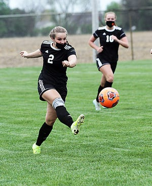 Sturgis senior Allison Landess earned honorable mention accolades for the Lady Trojan soccer team this past season.