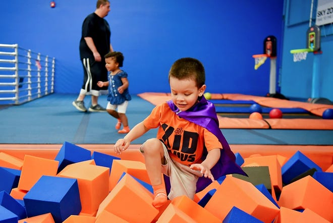 Sky Zone in Belden Village has introduced a new program called Little Leapers for children ages six and under.
