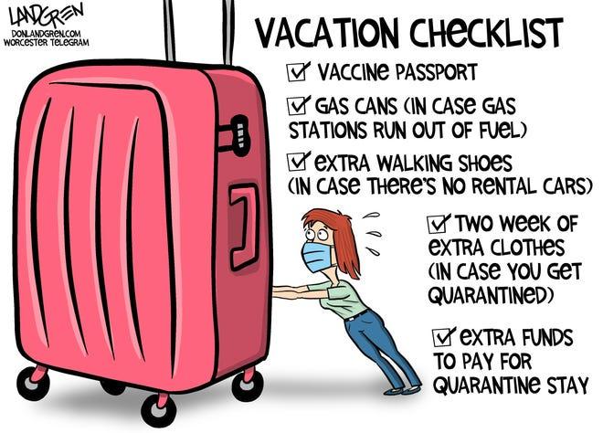 2021 Summer Vacation Checklist