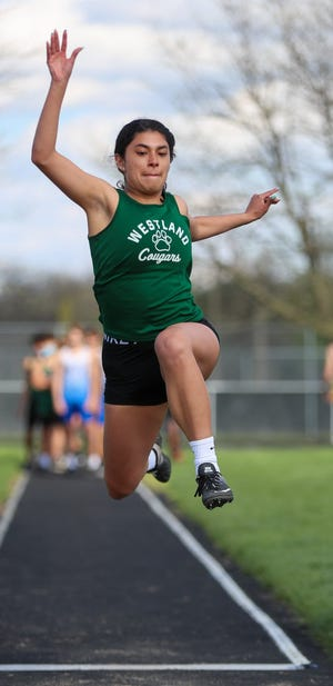 Sofia Rodriguez and Westland are preparing for the OCC-Ohio Division meet May 12 and 15 at Thomas Worthington, followed by the Division I district meet.