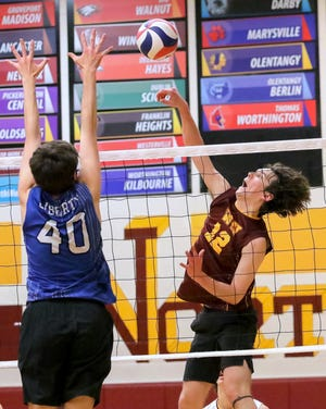 Nathan Gillenwater and North were 13-7 after defeatingUpper Arlington 25-16, 25-18, 25-18 on May 6. The Division I postseason begins May 21.