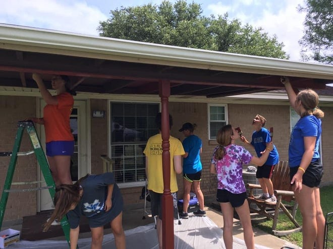 Volunteers from Van Alstyne First United Methodist Church will once again be helping locals with small projects as part of their annual mission trip.